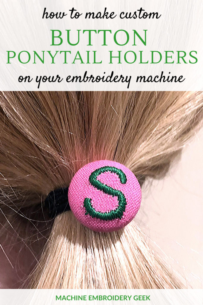 how to make personalized ponytail holders