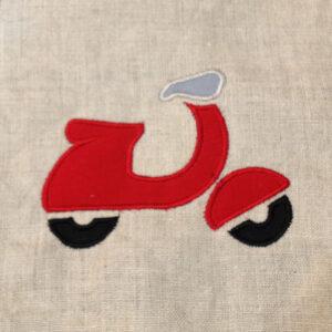 scooter-applique