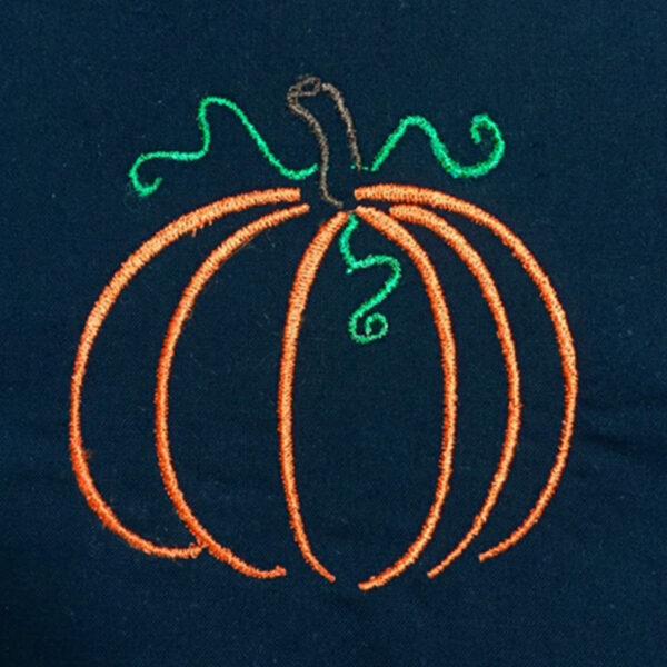 Sad Pumpkin Applique Halloween Pumpkin Applique Pumpkin Digital Machine Embroidery Design