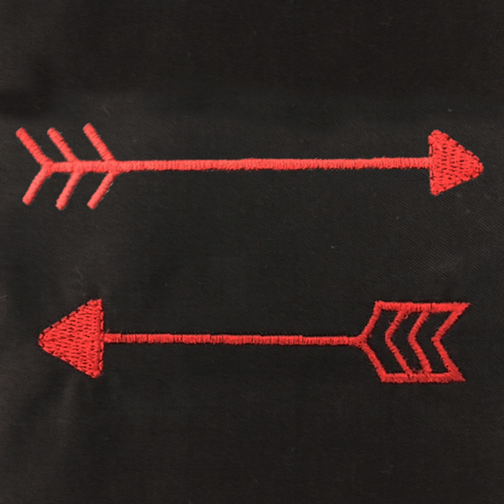 Small Whimsical Arrow Machine Embroidery Designs. These