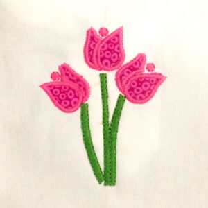 tulip-applique