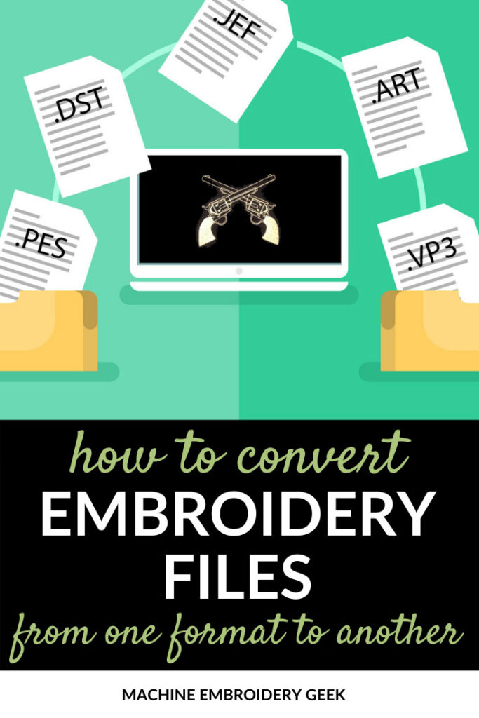 how to convert embroidery files