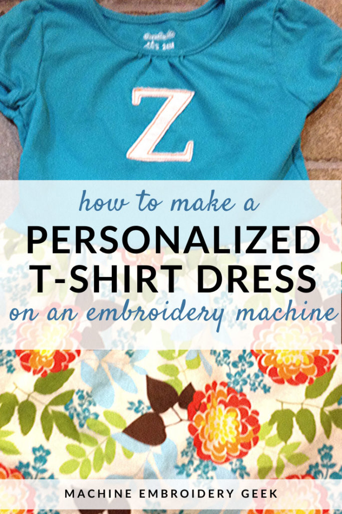 how to make a personalized t-shirt dress