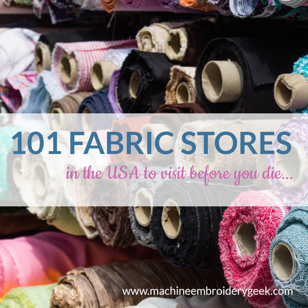 unique, independent fabric stores in the united states