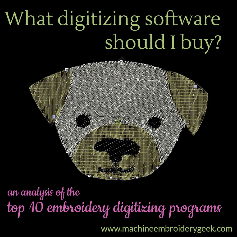 Top 10 digitizing programs for machine embroidery