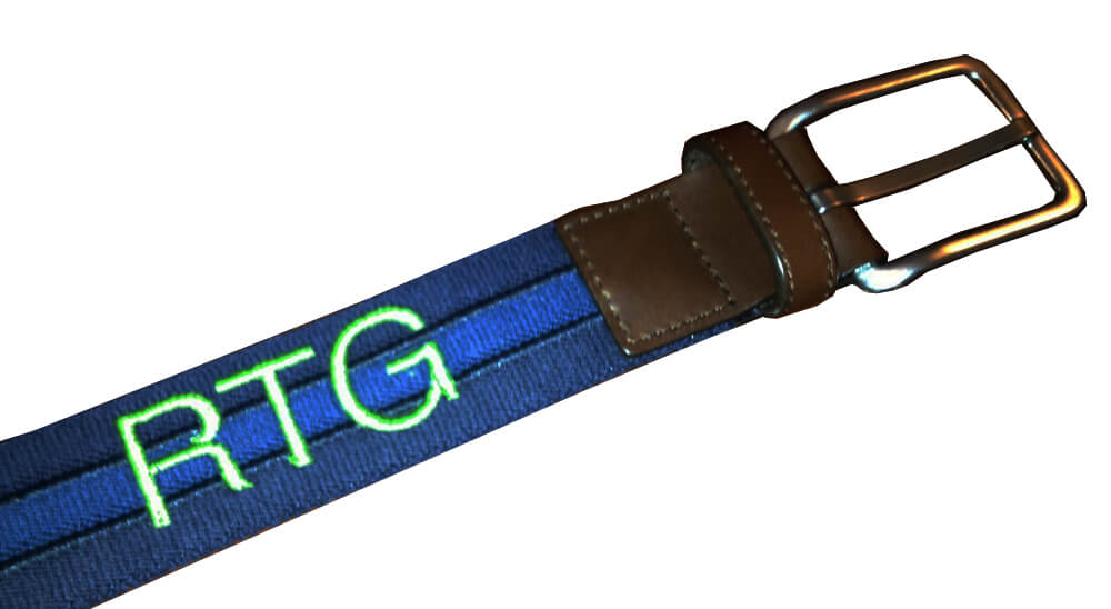 a personalized belt makes a great gift for a man