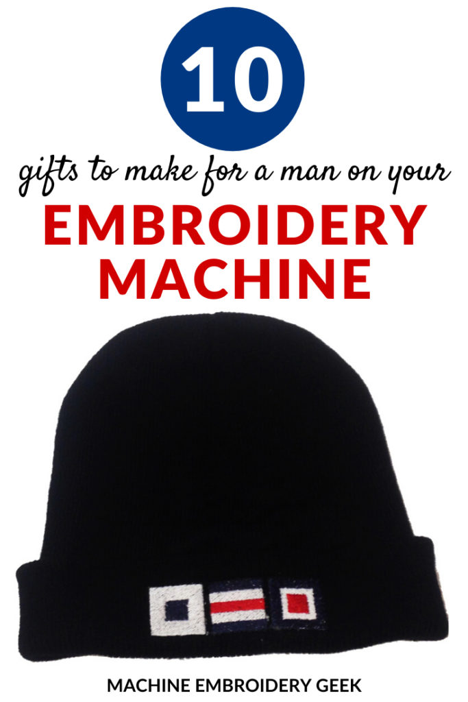 10 gift ideas to make for a man on an embroidery machine