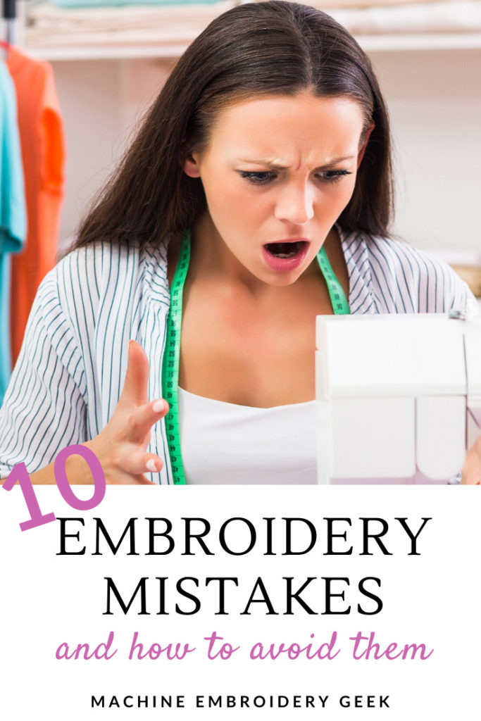 Embroidery Mistakes and How to Avoid Them