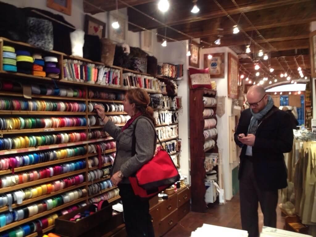 fabric shopping in Geneva