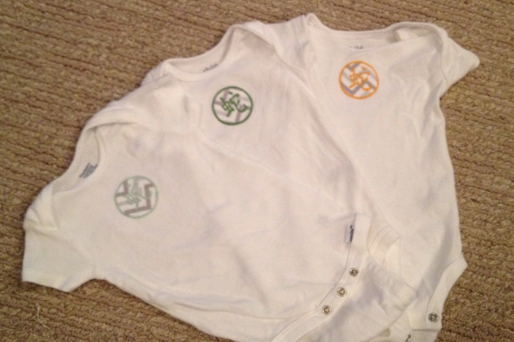 baby onesies with chinese year symbol