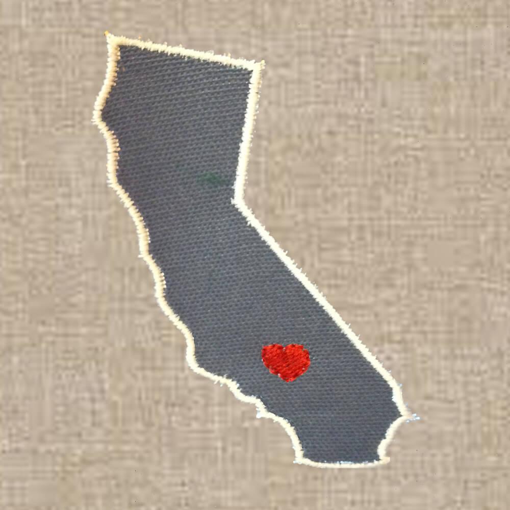 California applique design