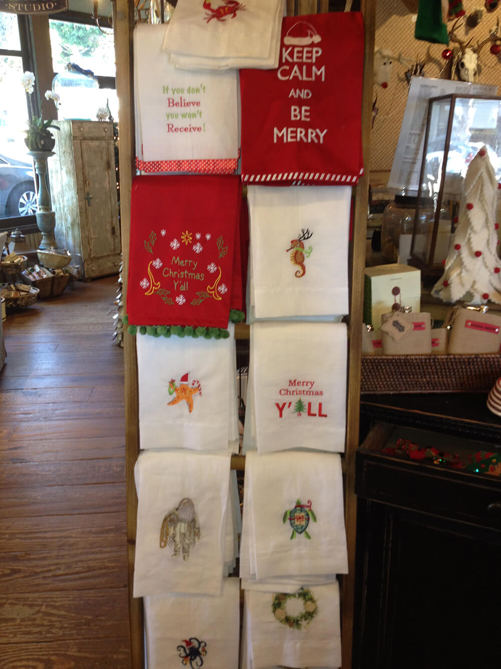 cute embroidered hand towels