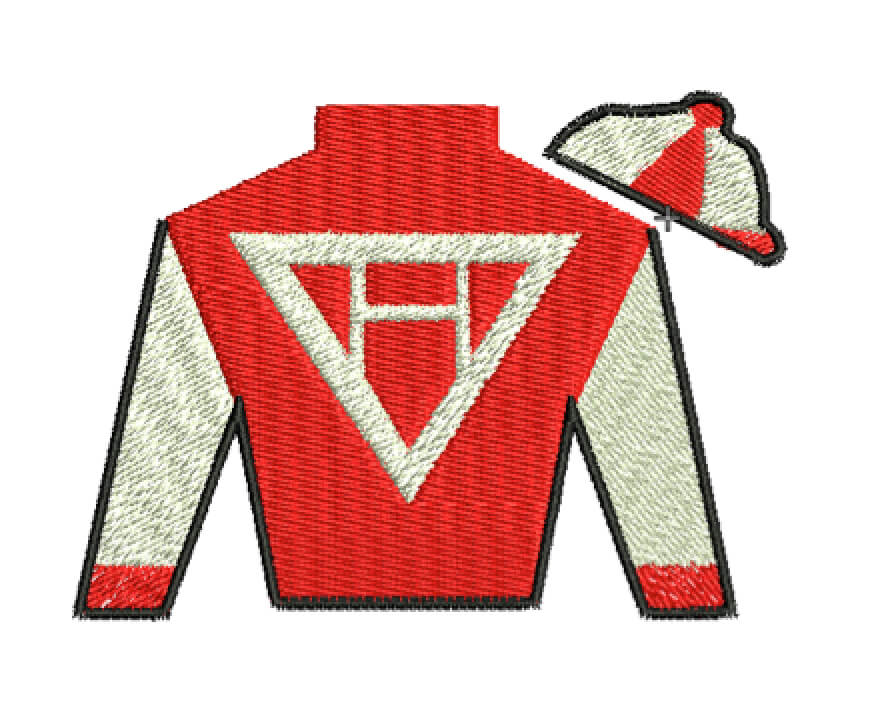 racing jacket embroidery design