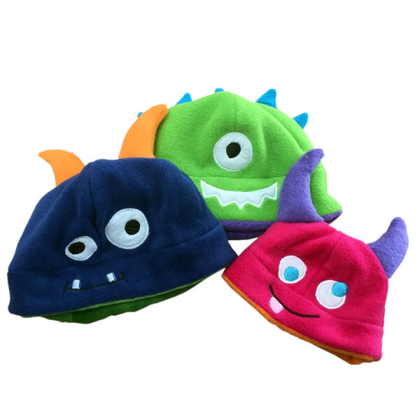 monster hat applique
