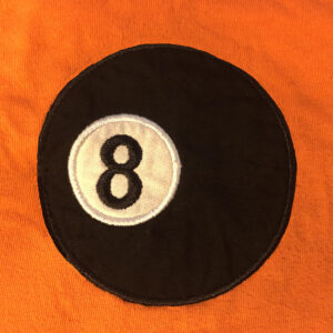 8 ball applique and embroidery files