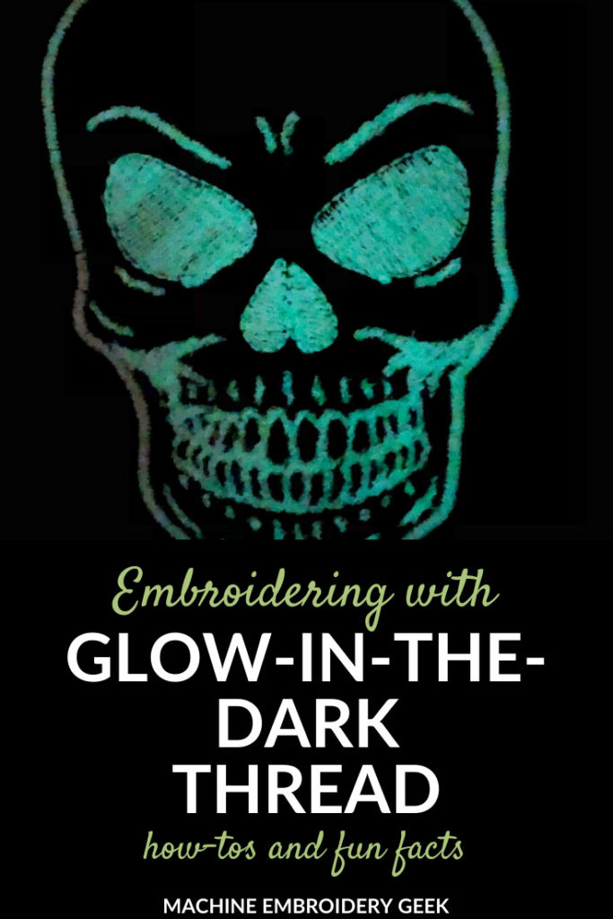 facts about glow in the dark thread