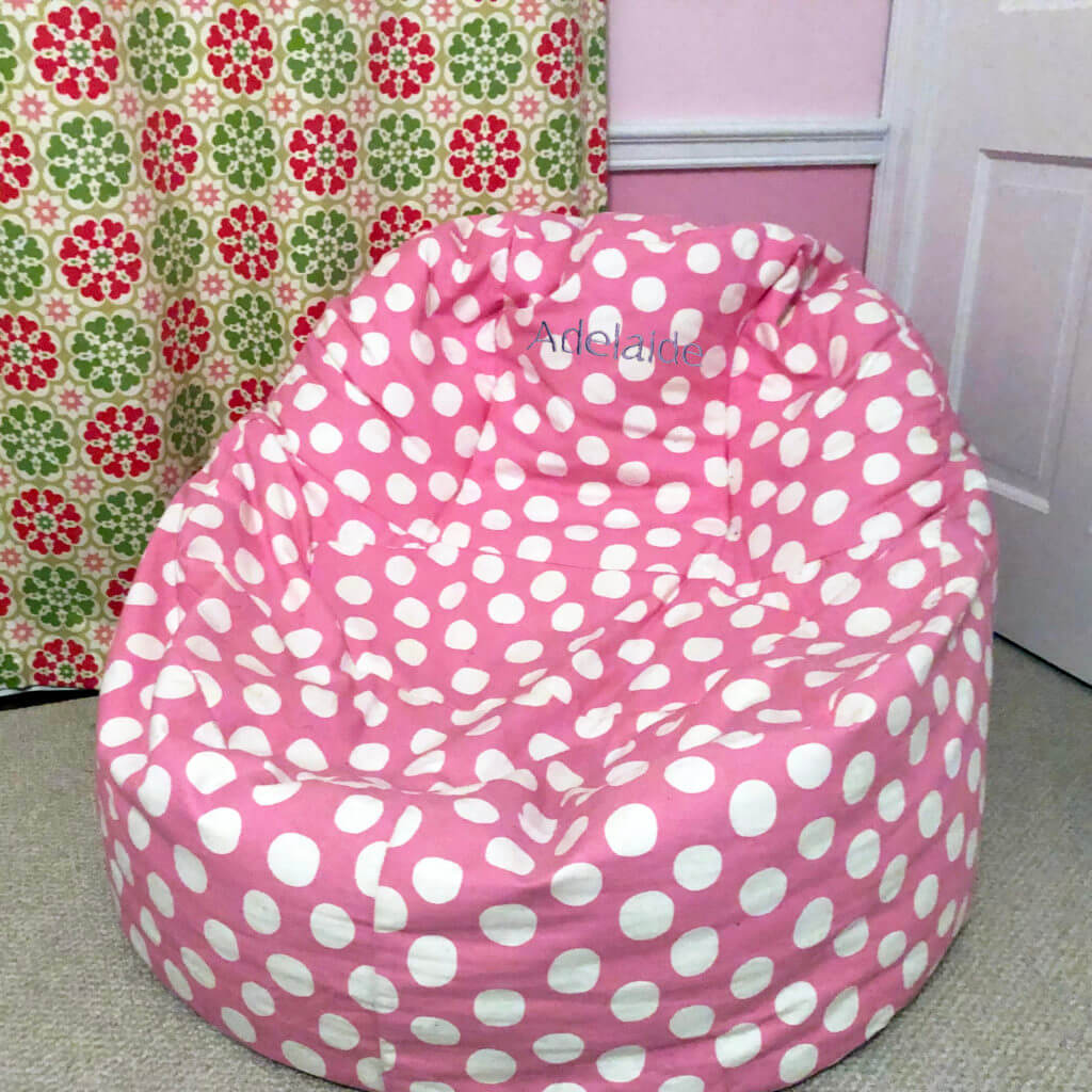 personalized bean bag chair is a great gift for a teen girl