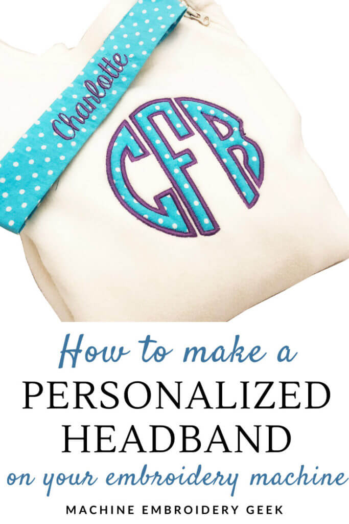 How to make a personalized headband