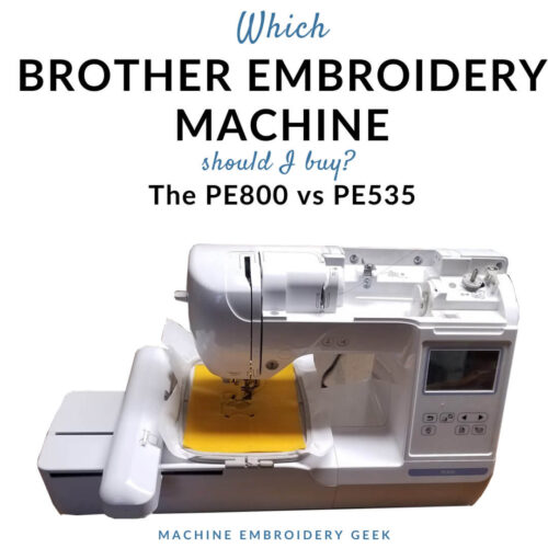Which Brother embroidery machine should you buy