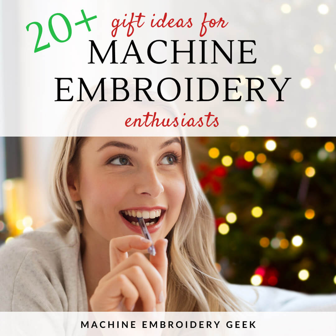 gifts for a machine embroidery enthusiast