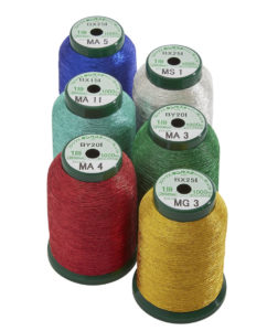 best metallic embroidery thread