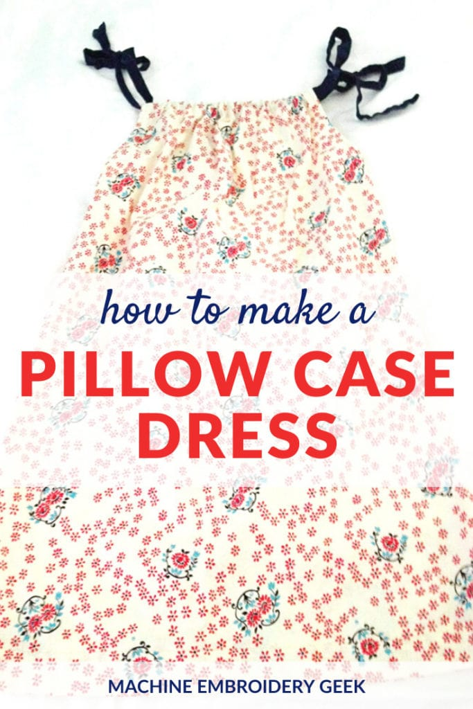 How to make a pillow case dress