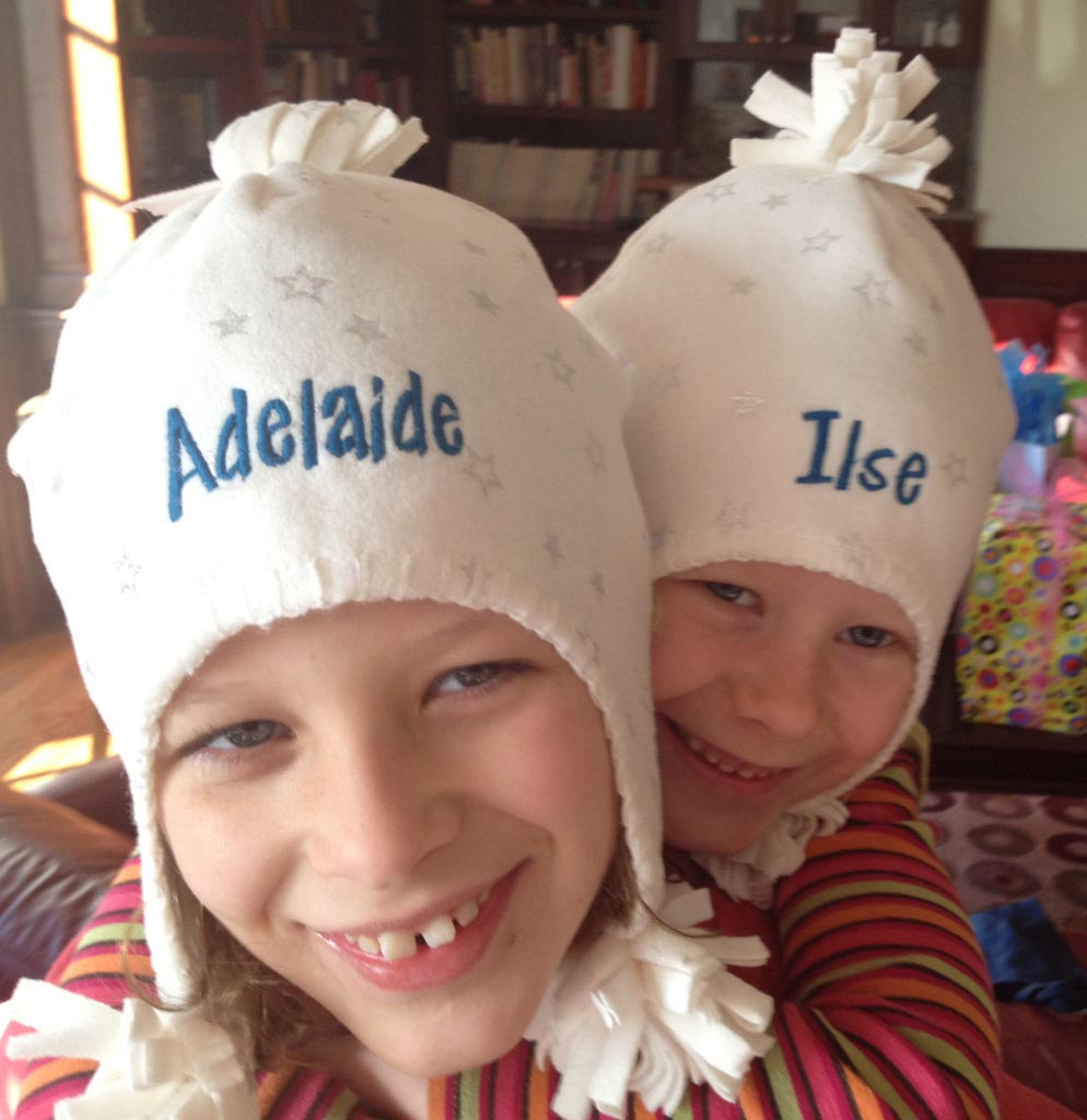 personalized hats make great party favors