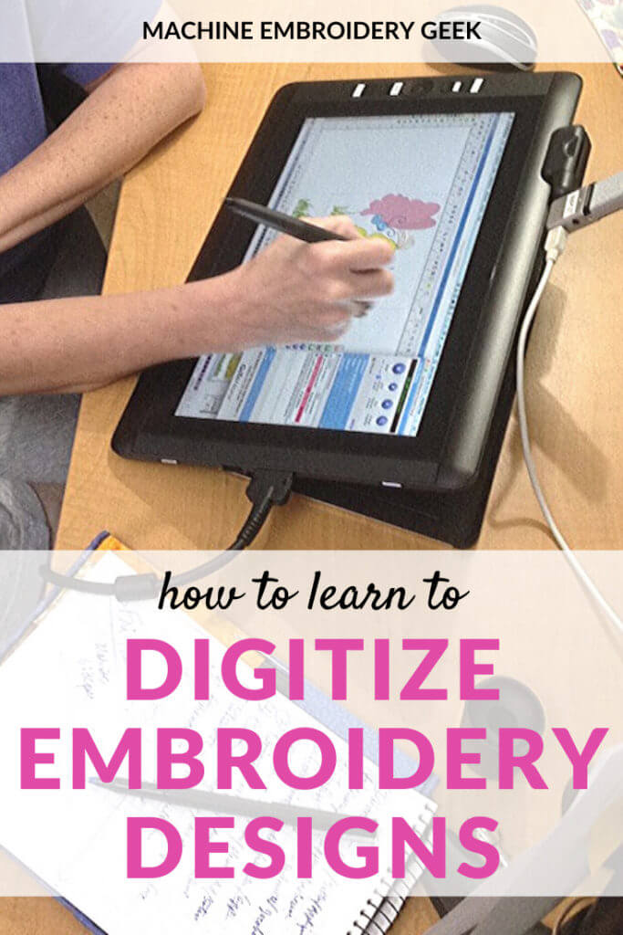how to learn to digitize machine embroidery designs