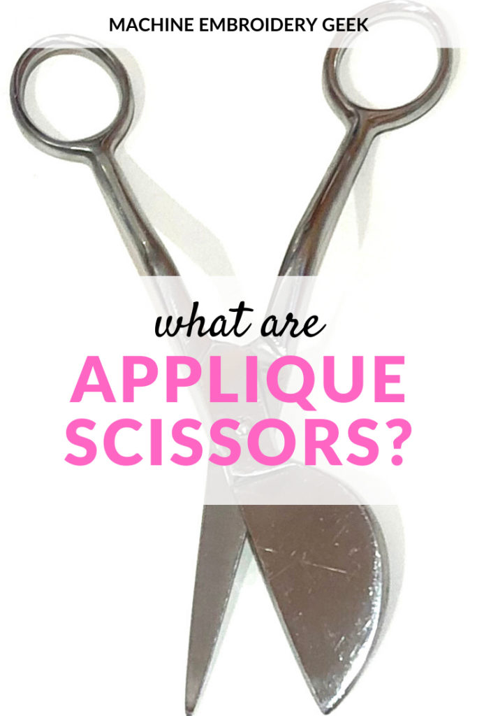 what are applique scissors