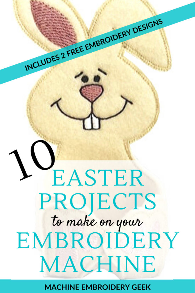 10 Easter projects to make on your embroidery machine