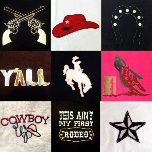 Rodeo design set