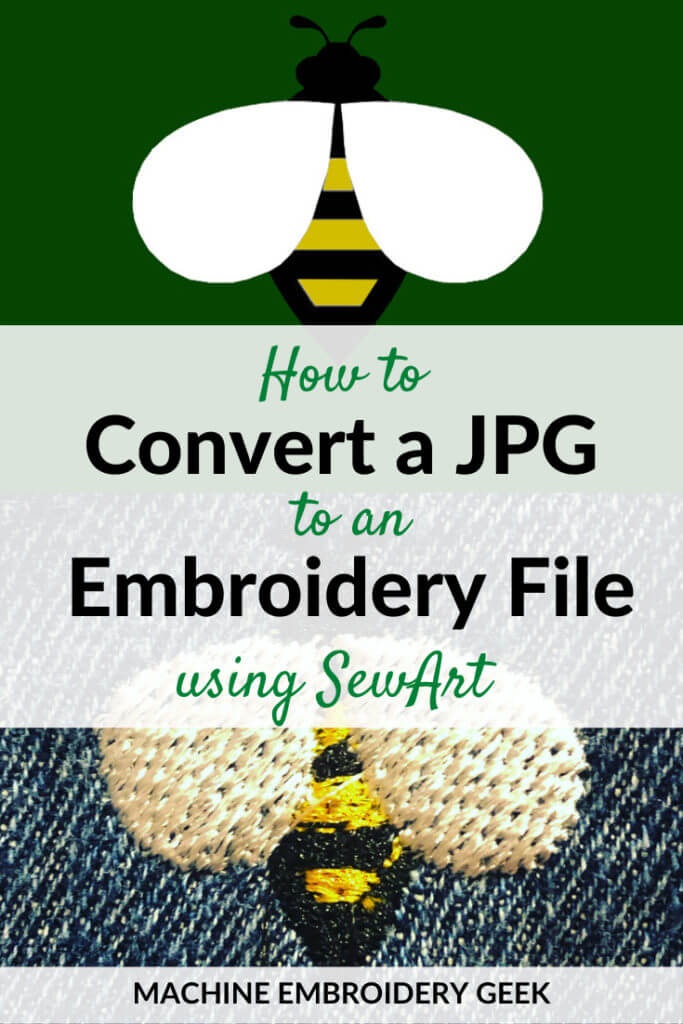 How to convert a JPG to an embroidery file