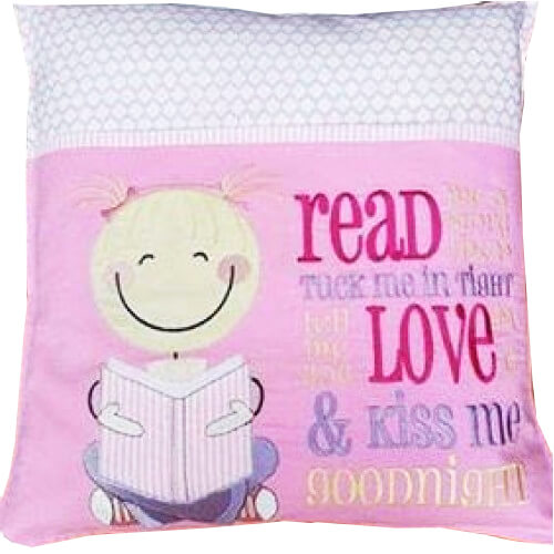 Reading pillow from Memories in Thread