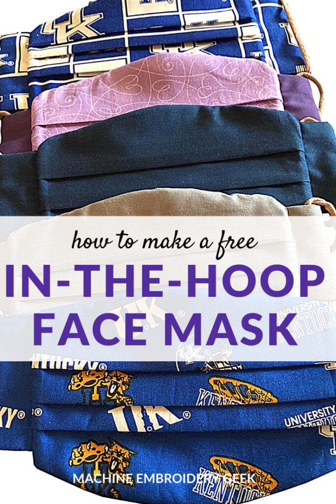 how to make an ITH face mask