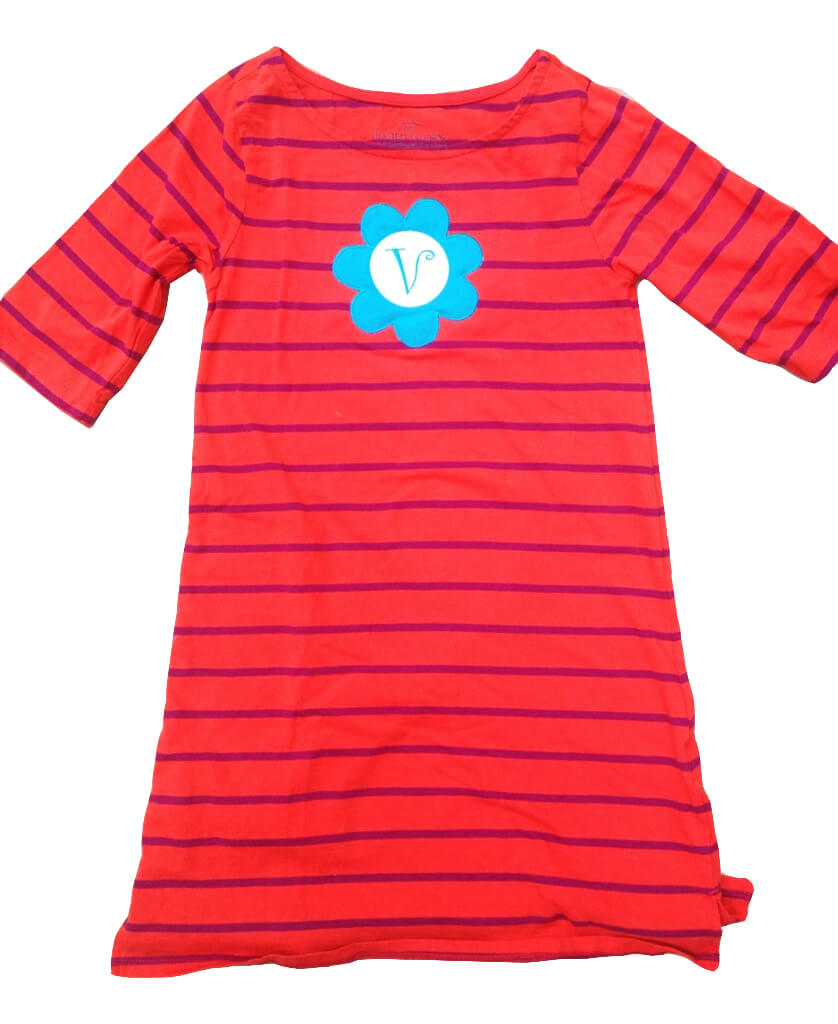 inexpensive monogrammed dress