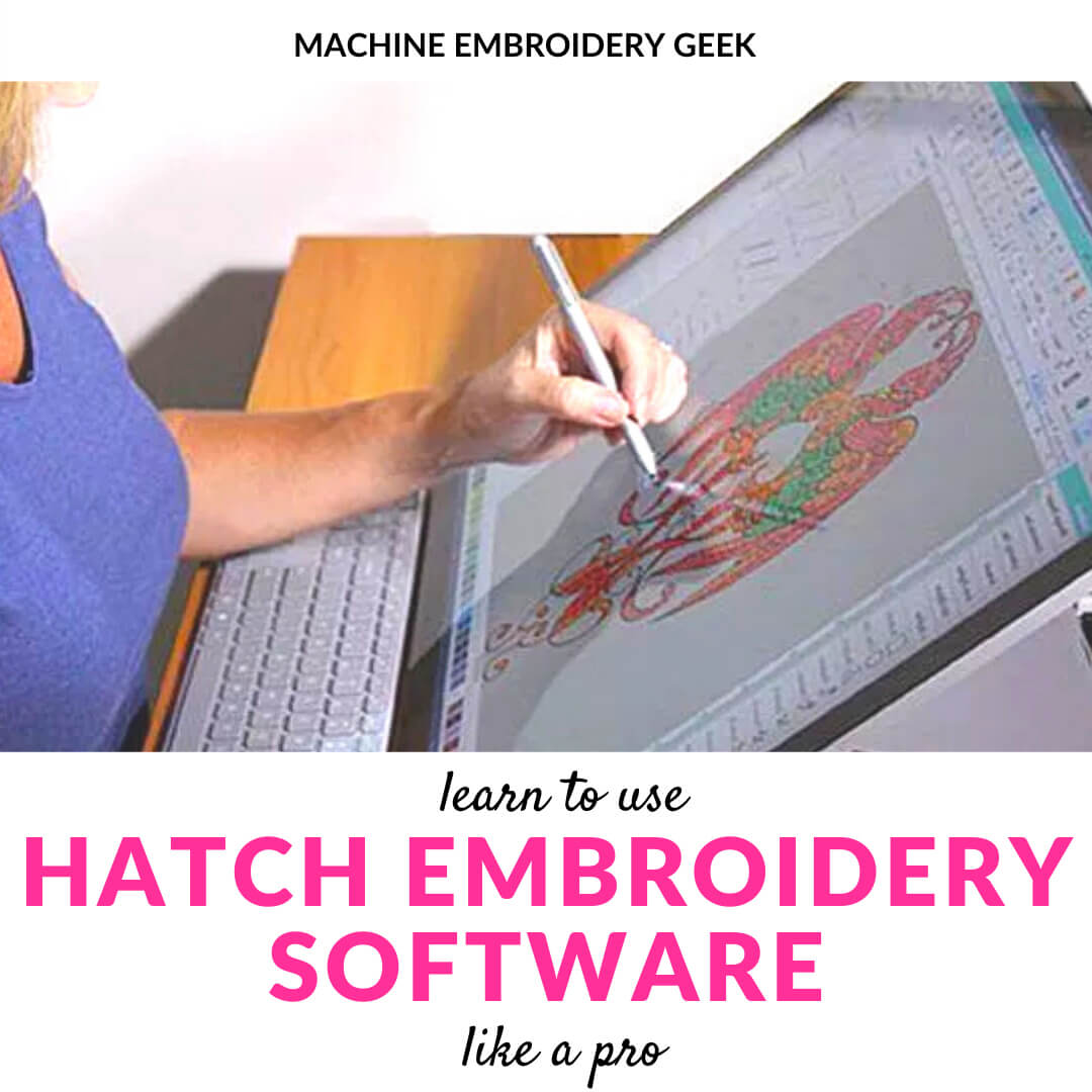 Learn how to digitize with Hatch embroidery software