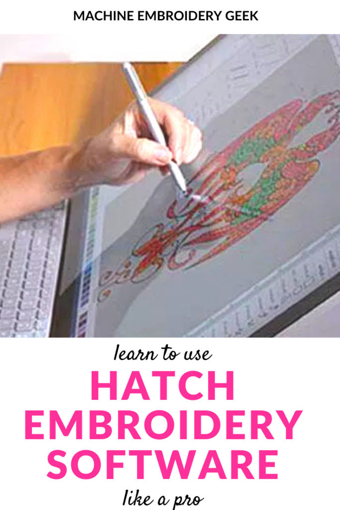 Learn to use Hatch embroidery software like a pro