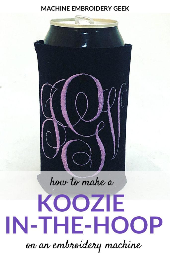 can koozie in the hoop