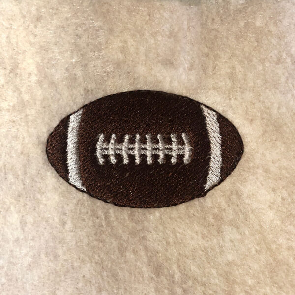 football machine embroidery design