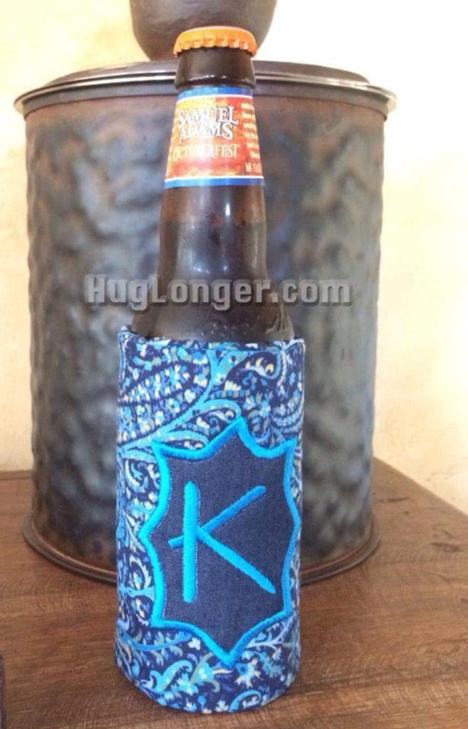 hug longer can and bottle koozie