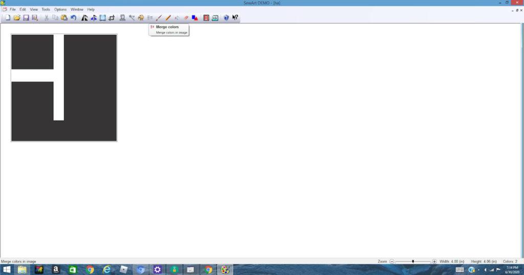 Opening an SVG file in SewArt