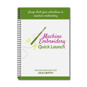 machine embroidery quick launch