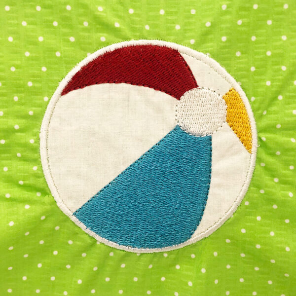 beachball applique