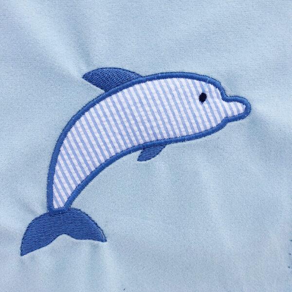 dolphin machine applique design