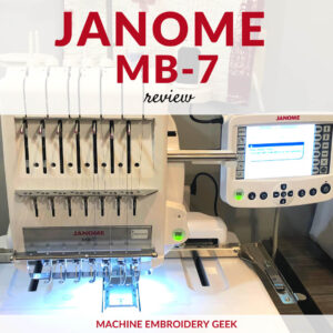 Janome MB-7 review