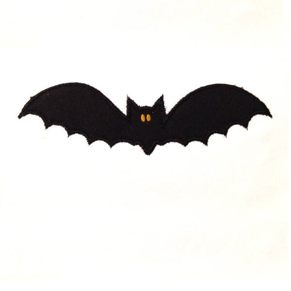 bat embroidery and applique designs