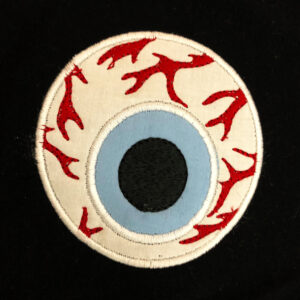 gross eye applique design