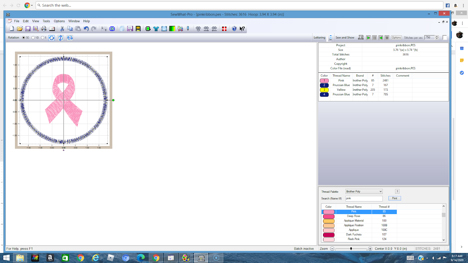 how to digitize a patch in sew art - step 4