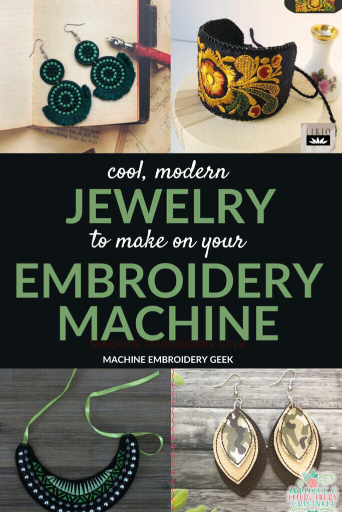 machine embrodiery jewelry designs to make