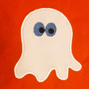 ghost embroidery and applique designs
